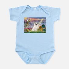 Cloud Angel & Samoyed Infant Bodysuit