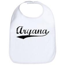 Vintage Aryana (Black) Bib