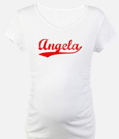 Vintage Angela (Red) Shirt