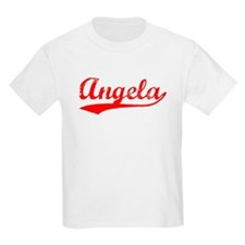 Vintage Angela (Red) T-Shirt