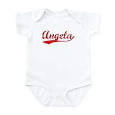 Vintage Angela (Red) Infant Bodysuit
