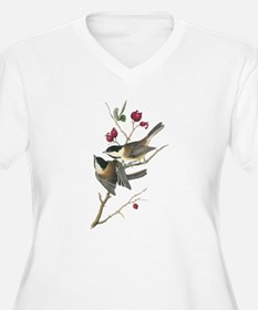 Chickadee (Front & back) T-Shirt