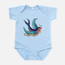 Bette Noir Swallow Infant Bodysuit