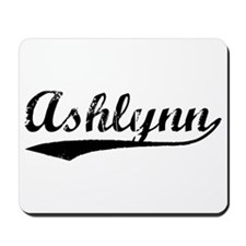 Vintage Ashlynn (Black) Mousepad