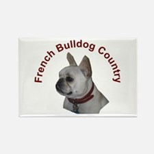 French Bulldog Country Rectangle Magnet