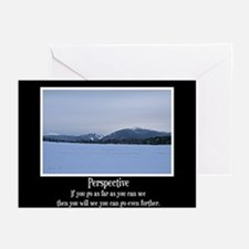 Mountains Perspective Greeting Cards (Pk of 20)