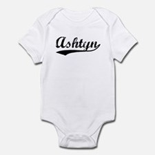 Vintage Ashtyn (Black) Infant Bodysuit