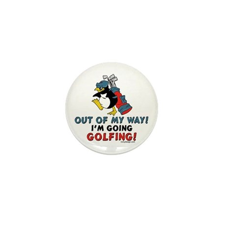 Golf Lovers Mini Button