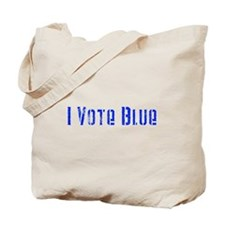 I Vote Blue 2 Tote Bag