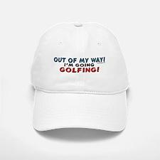 Golfing Penguin Baseball Baseball Cap