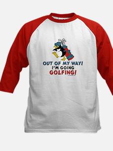 Golfing Penguin Tee