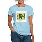 Irish Shamrock Quilting Block Women's Light T-Shir