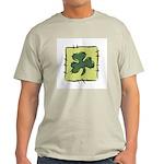 Irish Shamrock Quilting Block Light T-Shirt