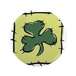 Irish Shamrock Quilting Block 3.5