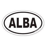 Alba Stickers
