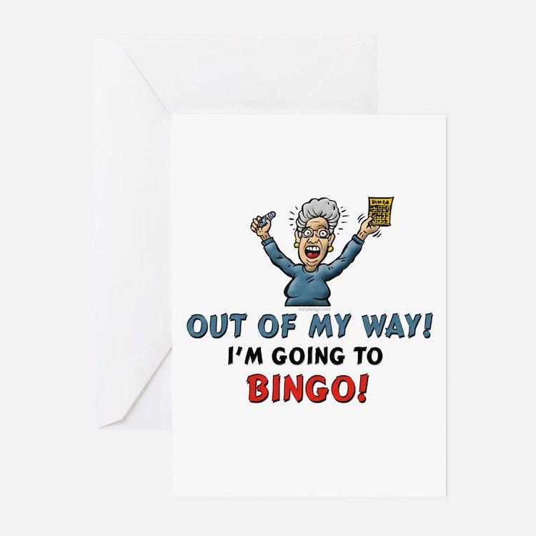 BINGO!! Greeting Cards (Pk of 10)