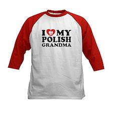 I Love My Polish Grandma Tee