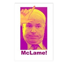 Anti McCain Postcards (Package of 8)