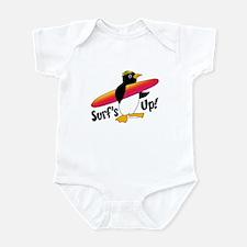 Surf's Up! Penguin Infant Bodysuit