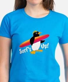Surf's Up! Penguin Tee