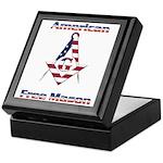 American Free Mason Keepsake Box