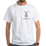 American Free Mason White T-Shirt