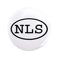 "NLS Oval 3.5"" Button (100 pack)"