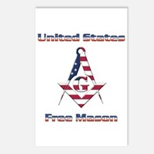 U.S. Mason Postcards (Package of 8)