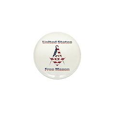 U.S. Mason Mini Button (100 pack)