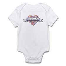 Love My Harmonica Player Infant Bodysuit