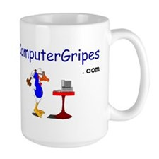 Computer Gripes Large Coffee Mug