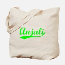 Vintage Anjali (Green) Tote Bag