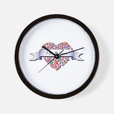 Love My Gunner Wall Clock