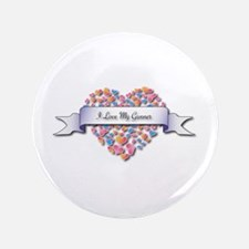 "Love My Gunner 3.5"" Button (100 pack)"