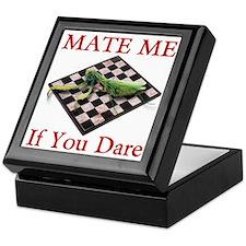 Mate Me Chess Keepsake Box