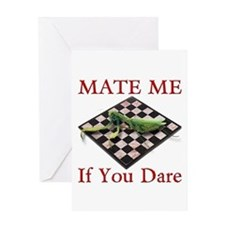 Mate Me Chess Greeting Card