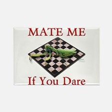 Mate Me Chess Rectangle Magnet