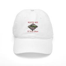 Mate Me Chess Baseball Baseball Cap