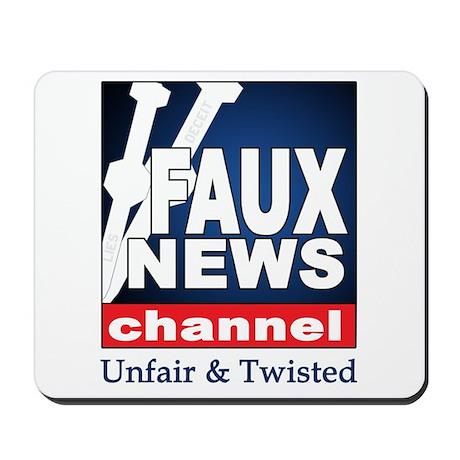 FAUX NEWS Mousepad
