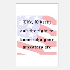 Genealogists Rights Postcards (Package of 8)