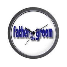 Father of the Groom Casual #1 Wall Clock