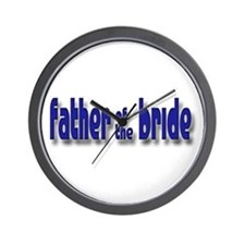 Father of the Bride Casual #1 Wall Clock