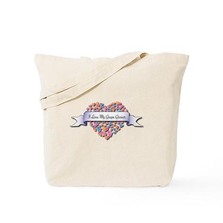Love My Grape Grower Tote Bag