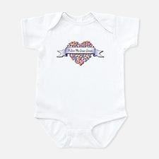 Love My Grape Grower Infant Bodysuit
