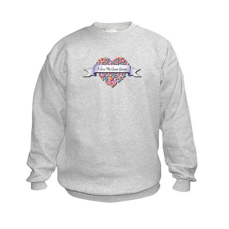 Love My Grape Grower Kids Sweatshirt