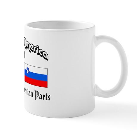 Irish-Slovenian Mug