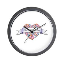 Love My Glockenspiel Player Wall Clock