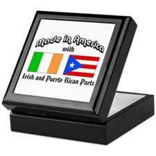 Irish-Puerto Rican Keepsake Box