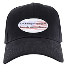 Genealogists Rights Baseball Hat
