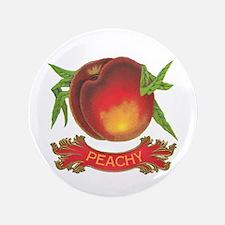 """Peachy White 3.5"""" Button"""